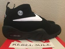 NIKE AIR SHAKE NDESTRUKT BLACK PRE OWNED SZ 9.5 100% AUTHENTIC 880869-001