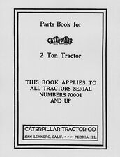 Caterpillar 2 - Ton Parts Book