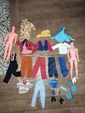 Lot KEN MATTEL VINTAGE BARBIE CLOTHES