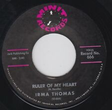 IRMA THOMAS Ruler Of My Heart / Hittin On Nothing Re.7 New Orleans 1963 R&B HEAR