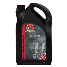 Millers Oils NANODRIVE CFS 10W40 Fully Synthetic Engine Oil 5L 7954GMS - SPOOX