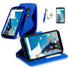 BLUE Wallet 4in1 Accessory Bundle Kit Case Cover For Google Nexus 6