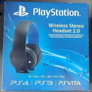 Sony PlayStation Wireless Stereo Headset 2.0 (PS4, PS, PSVITA) New Sealed