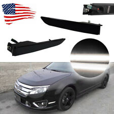 Front Side Marker Lights White Led Lamps For Ford Fusion 2010 2012 Smoke Lens