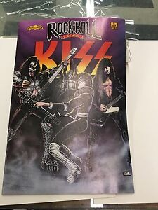 KISS COMIC BOOK Mint Condition 1st Printing ERROR EDITION