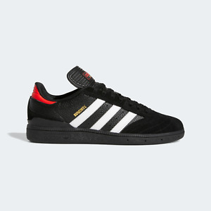 adidas Originals Busenitz Shoes in Black and Red