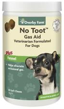60pcs No Toot For Dogs, Chew Gas & Flatulence Supplement (Best Before 05/2022)