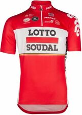 Lotto Soudal 2017 Short Sleeve Jersey Red Large TD085 ii 26