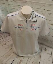 Ragman Poloshirt  Polohemd Knopfleiste Kurzarm Gr. L 52 Weiß 100% Baumwolle