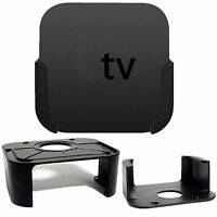 BV New Wall Mounting Kit Case Bracket Holder Tray Stand For Apple TV 4th