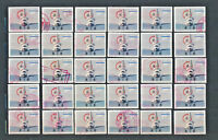 Space Shuttle Landing PRIORITY MAIL STAMP #3261 LOT of 30 Used with Red Cancels