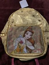 Disney Store Belle (Beauty and the Beast) Backpack - Nwt Original Back To Sch