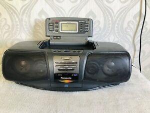 Panasonic Mash RX-DT07 Portable Cd Tape Radio Boom Box Fully Working VGC