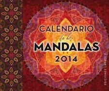 Calendario de los mandalas 2014 (Spanish Edition) by Varios autores in Used - V