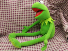 "Kermit Sesame Street Muppets Kermit the Frog Toy plush 18"""