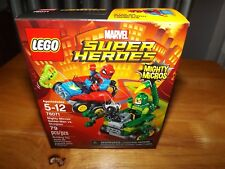 LEGO, MARVEL SUPER HEROES, MIGHTY MICROS: SPIDER-MAN VS SCORPION, #76071 NIB
