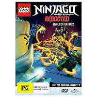 LEGO NINJAGO REBOOTED SEASON 3 VOLUME 2 DVD New/Sealed