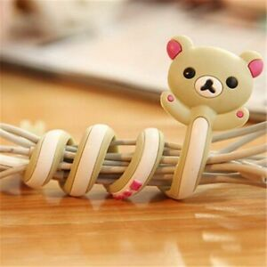 Earphones Mouse Keyboard Cable Winder Wire Protector For Computer Mobile Phone