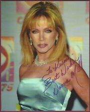 Donna Mills, Actress, Producer, Signed Photo, COA, UACC RD 036