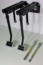 HOT ROD UNDER DASH FIRE WALL MOUNT  BRAKE & CLUTCH PEDAL ASSEMBLY - FORD, CHEV
