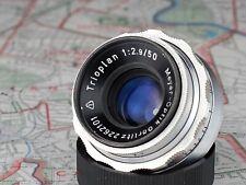 TRIOPLAN 2.9/50 Meyer Optik Görlitz EXA exakta mount lens