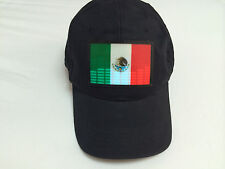 SOUND MUSIC Activated LED LIGHT FLASHING MEXICAN MEXICO FLAG DJ PARTY DANCE HAT
