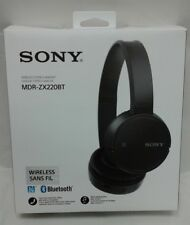 USED EXCELLENT - Sony MDRZX220BT/B Wireless On-Ear Headphones, Black $90 - READ