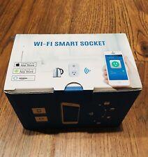 Smart Plug Wifi Mini Outlet Aneken Smart Socket W/ Amazon Alexa Google Assistant