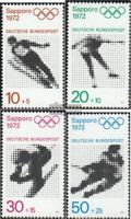BRD (BR.Deutschland) 680-683 (kompl.Ausgabe) gestempelt 1971 Olympiade