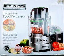Hamilton Beach Professional 14 Cup Dicing Food Processor  Model# 70825