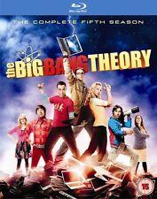 The Big Bang Theory - Season 5 (Blu-ray, 2012, 2-Disc Set) FREE SHIPPING