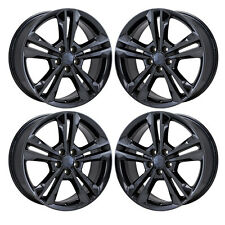 "19"" DODGE CHARGER AWD BLACK CHROME WHEELS RIMS FACTORY OEM 11 12 2013 2014 2410"