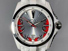 Von Dutch 42mm White Angel Unisex Quartz Silicone Strap Watch