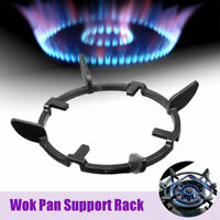 Universal Cast Iron Wok Pan Support Rack Stand For Burners Gas Hobs & Cookers