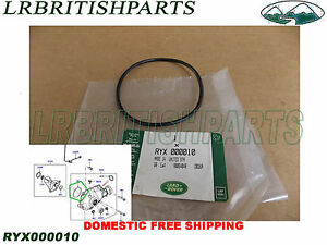 GENUINE LAND ROVER DIFFERENTIAL FRONT AXLE O RING RANGE ROVER  03-12 RYX000010