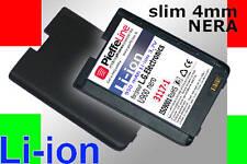 batteria per lg U900 U 900  Li-ion 950 mAh NERA  SLIM