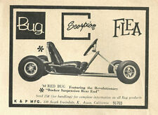 "Vintage & Rare 1964 Bug ""Red Bug"" Go-Kart Ad"