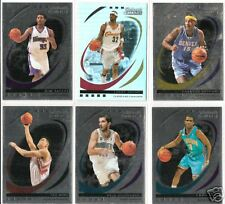 2006-2007 Trademark Moves Basketball 6 card Foil lot (5  #d/299 and 1 #95/149)