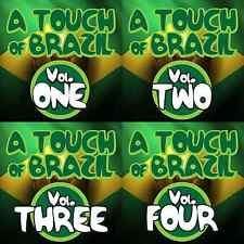 DMC A Touch Of Brazil Volume 1-4  4 CD Box Set of Classic House Latin Pop & Jazz