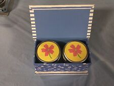 Two Can Candles in Gift Box New from Hallmark