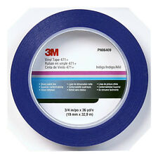 3/4 3M Blue Fine Line Striping Tape-Car Paint Pinstripe