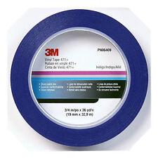 3/4 3M Blue Fine Line Striping Tape-Car Paint Pinstripe