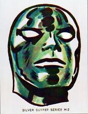 SILVER SURFER PRINT Fantastic Four Vintage Marvelmania artwork