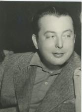 Lewis Milestone Vintage silver Print,Lewis Milestone est un réalisateur, produ