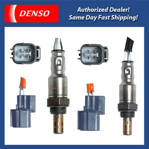 Denso Oxygen Sensor Set 2PCS for 2003-2010 Acura MDX, TL / Honda Accord, Odyssey