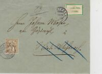 Switzerland 1898 Postal History Stamps Cover Ref: R7770
