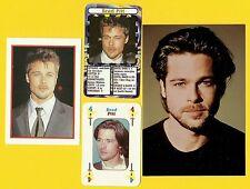 Brad Pitt Fab Card Collection American Actor Film Producer Golden Globe Award