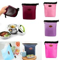 Portable Waterproof Thermal Cooler Insulated Lunch Bag Tote Storage Picnic Bags