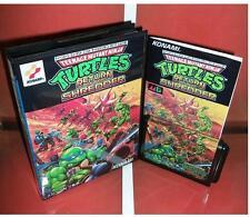 Turtles return of the Shredder for Sega MegaDrive Video console system 16 bit MD