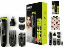 Braun MGK3021 6-in-1 Hair Clipper & Beard Trimmer Ear & Nose Trimmer Refurbished